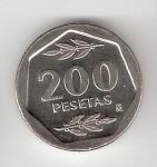 monedas de Europa - España -  200 ptas Juan Carlos I 1986