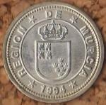 monedas de Europa - España -  Región de Murcia