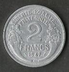 monedas de Europa - Francia -  LIBERTE EGALITE FRATERNITE 1947 (FRONTAL)