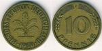 monedas de Europa - Alemania -  ALEMANIA R.FEDERAL