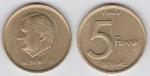 monedas de Europa - Bélgica -  BELGICA