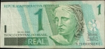 monedas de America - Brasil -  BILLETE 1 REAL
