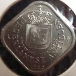 monedas de America - Antillas Neerlandesas -  1985 (Anverso)