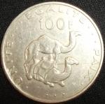 monedas de Africa - Djibouti -  2004 (Reverso)