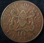 monedas de Africa - Kenya -  1984 (Reverso)