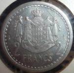 monedas de Europa - Mónaco -  1943 (Reverso)