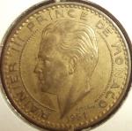 monedas de Europa - Mónaco -  1951 (Anverso)