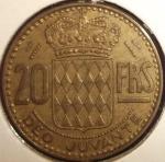 monedas de Europa - Mónaco -  1951 (Reverso)