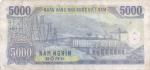 monedas de Asia - Vietnam -  REVERSO BILLETE VIETNAM