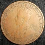monedas de Oceania - Australia -  1917 (Anverso)