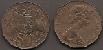 monedas de Oceania - Australia -  escudo