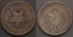monedas de America - Cuba -  Patria y Libertad
