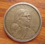 monedas de America - Estados Unidos -  MONEDA LIBERTY USA - REVERSO