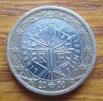 monedas de Europa - Francia -  MONEDA EURO- UNION EUROPEA - REVERSO