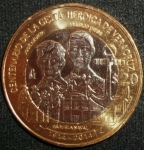 monedas de America - México -  2014 (Anverso)
