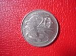 monedas de Oceania - Australia -  Elizabeth II / reverso