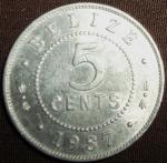 monedas de America - Belice -  1987 (Reverso)