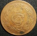 monedas de America - México -  1933 (Anverso)