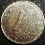 monedas de America - Canadá -  1968 (Reverso)