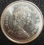 monedas de America - Canadá -  1985 (Anverso)