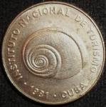 monedas de America - Cuba -  1981 (Anverso)