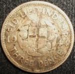 monedas de Europa - Reino Unido -  1944 (Reverso)