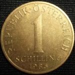 monedas de Europa - Austria -  1985 (Reverso)