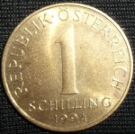 monedas de Europa - Austria -  1994 (Reverso)
