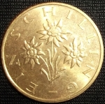 monedas de Europa - Austria -  1995 (Anverso)