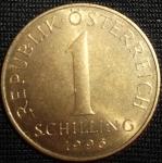 monedas de Europa - Austria -  1996 (Reverso)
