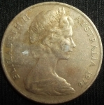 monedas de Oceania - Australia -  1976 (Anverso)