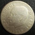 monedas de America - Haití -  1949 (Anverso)