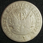 monedas de America - Haití -  1949 (Reverso)