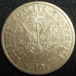 monedas de America - Haití -  1975 (Reverso)