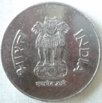 monedas de Asia - India -  2001 (Anverso)