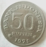 monedas de Asia - Indonesia -  1971 (Anverso)
