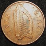 monedas de Europa - Irlanda -  1975 (Anverso)