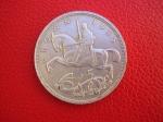 monedas de Europa - Reino Unido -  Jorge V / Dragon / Reverso