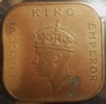 monedas de Asia - Malasia -  1940 (Anverso)