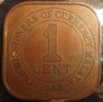 monedas de Asia - Malasia -  1940 (Reverso)