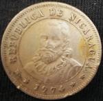 monedas de America - Nicaragua -  1974 (Anverso)