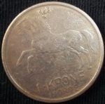 monedas de Europa - Noruega -  1968 (Reverso)