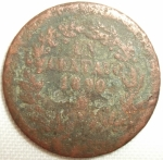 monedas de America - México -  1890 (Anverso)