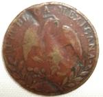 monedas de America - México -  1860 (Reverso)