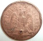 monedas de America - México -  1889 (Reverso)