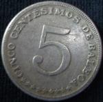 monedas de America - Panamá -  1968 (Reverso)