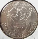 monedas de America - Panamá -  1975 (Anverso)