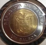 monedas de America - Panamá -  2011 (Reverso)