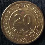 monedas de America - Perú -  1986 (Reverso)