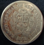 monedas de America - Perú -  2003 (Anverso)